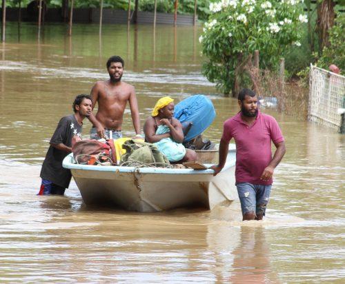 Trinidad and Tobago flooded 2018